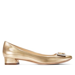 Tory Burch Spark Gold Pumps