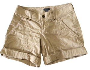 A/X Armani Exchange Camo Cuffed Shorts Khaki