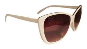 hausof Zuma Beach White Retro Shades