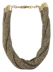Tory Burch Braided Beaded Necklace