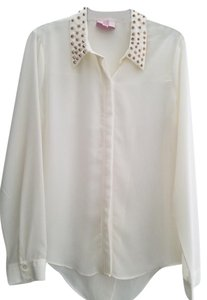 Romeo & Juliet Couture Top Cream