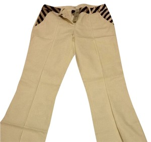 Cache Trousers White Casual Trouser Pants ivory