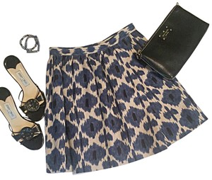 MICHAEL Michael Kors Mini Skirt Blue & Black