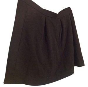 Madewell Quality Pleated Skirt Black