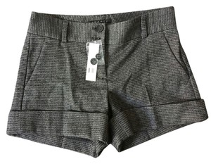 Theory Cuffed Shorts Brown