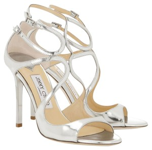 Jimmy Choo Silver mirrored Pumps