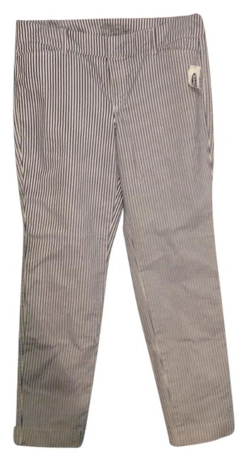 Item - White Pinstriped Summer Pants Size 10 (M, 31)