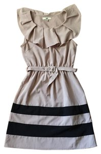 Lulu*s short dress Taupe on Tradesy