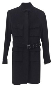 Elie Tahari Long Wool Pea Coat