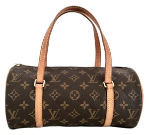 Louis Vuitton Papillion Brown Satchel in Monogram