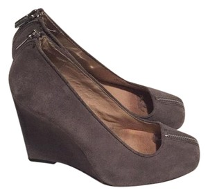 Michael Kors Grey Wedges