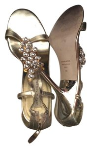 Lord & Taylor Gold Sandals