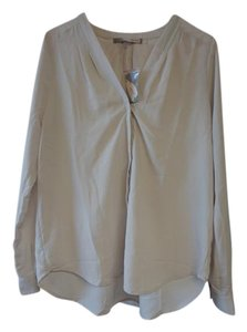 Forever 21 Shirt Casual Contemporary Top Khaki