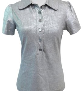 Tory Burch Top Grey / Silver