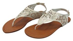 Mixit New Size 9.00 M Excellence Condition White Sandals