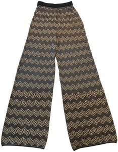 M Missoni Wide Leg Pants Gold