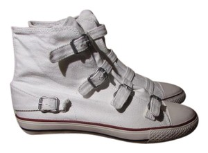 Ash White Canvas Athletic