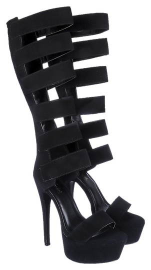 Anne Michelle Black Platforms