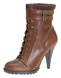 ALDO Zara Brown Lace Up Boots