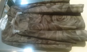 Cividini Brown olive skirt suit by Cividini, made in Italy