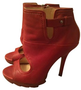 Camilla Skovgaard Red/Brown Platforms