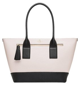 Kate Spade Medium Harmony Tote in Pebble/black