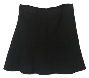 Sanctuary Clothing A-line Cotton Mini Mini Skirt Black