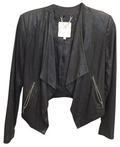 BB Dakota Black faux leather Leather Jacket