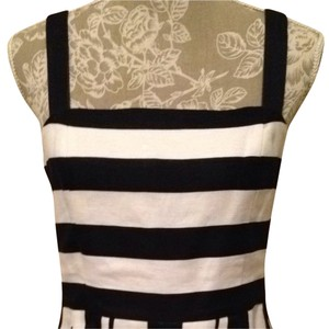 Ann Taylor LOFT short dress Black & White on Tradesy