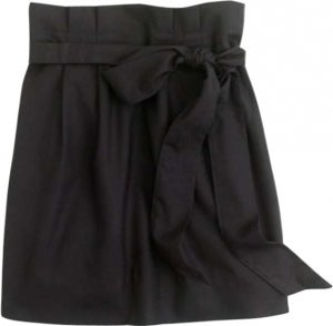 J.Crew Sash Mini Skirt Black