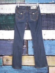 MEK DNM Denim Dark Wash Darwin Boot Cut Jeans