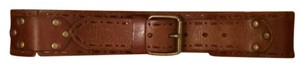 Anthropologie Brown Western Inspired Belt