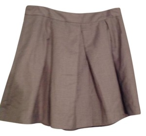 Forever 21 Pleated Skirt Gray