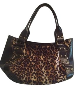 Pritzi Faux Fur Faux Leather Extra Large Excellent Condition Hobo/Tote Hobo Bag