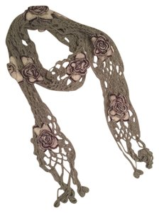 Other Flower knitted scarf