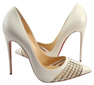 Christian Louboutin 120mm 42 Bareta white Pumps