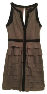 BCBGMAXAZRIA Sleeveless Empire Waist Dress