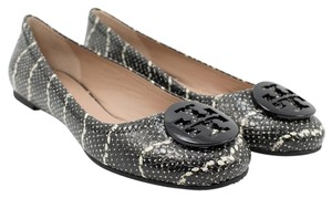 Tory Burch Black-Ivory Flats