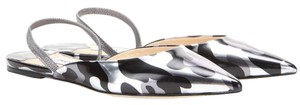 Jimmy Choo Metallic print Flats