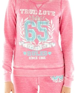 Self Esteem Self Esteem Pink Pullover Top - Size Junior Large