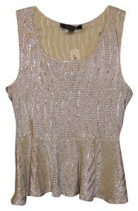 Forever 21 Top Gold Metallic