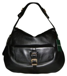 Ralph Lauren Rafferty New Leather Hobo Bag