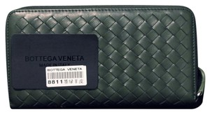 Bottega Veneta Bottega Veneta Intrecciato Nappa Zip Around Wallet