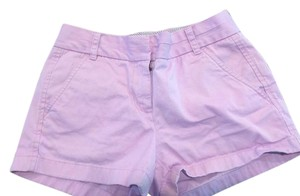 J.Crew Chino Navy Mini/Short Shorts Light Purple