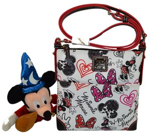 Dooney & Bourke And Letter Carrier Minnie Mouse Cross Body Bag