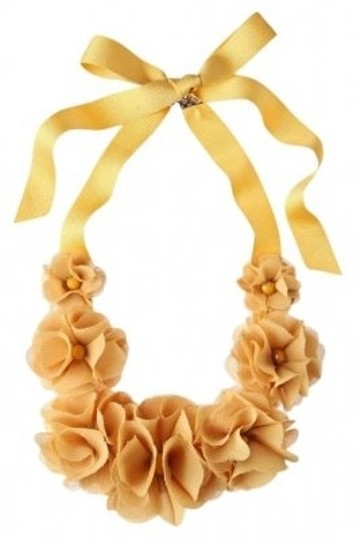 Preload https://img-static.tradesy.com/item/166135/anthropologie-yellow-windflower-necklace-0-0-540-540.jpg