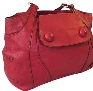 Anya Hindmarch Satchel in Red
