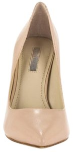 BCBGeneration Nude Leather Pumps