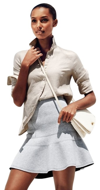 Preload https://item3.tradesy.com/images/jcrew-gray-new-designer-couture-stunning-flared-surf-lover-collection-miniskirt-size-4-s-27-1661422-0-0.jpg?width=400&height=650