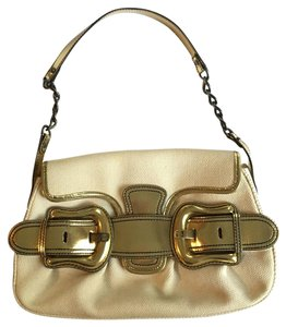 Fendi Metallic Buckle Chic Shoulder Bag